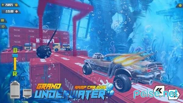 水下汽车比赛图1