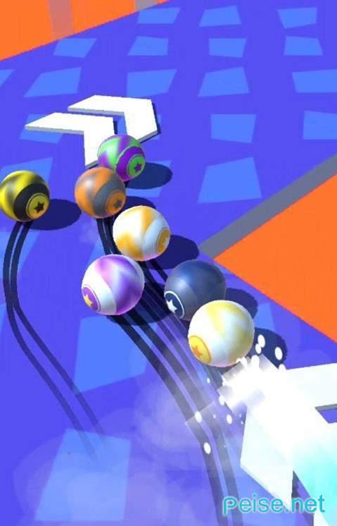 变色球赛跑图1