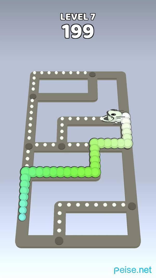 贪吃蛇迷宫逃离3D图3