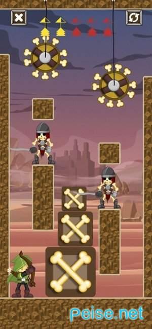 弓箭手射击英雄图2