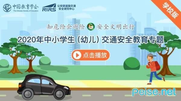 2020年中小学生(幼儿)交通安全教育专题