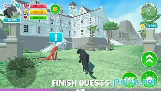 黑豹家庭模拟3D冒险丛林图3