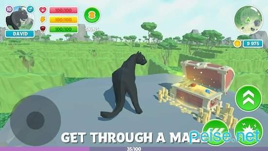 黑豹家庭模拟3D冒险丛林图2