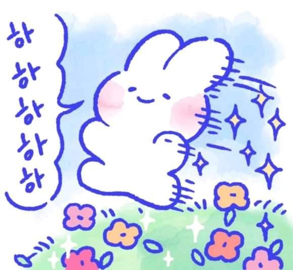 小兔子表情包