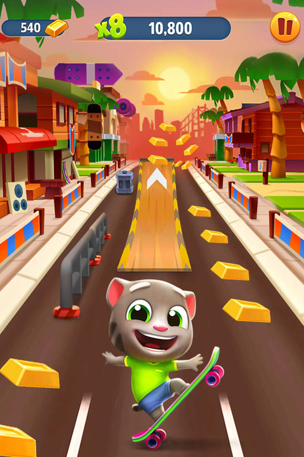 汤姆猫跑酷游戏