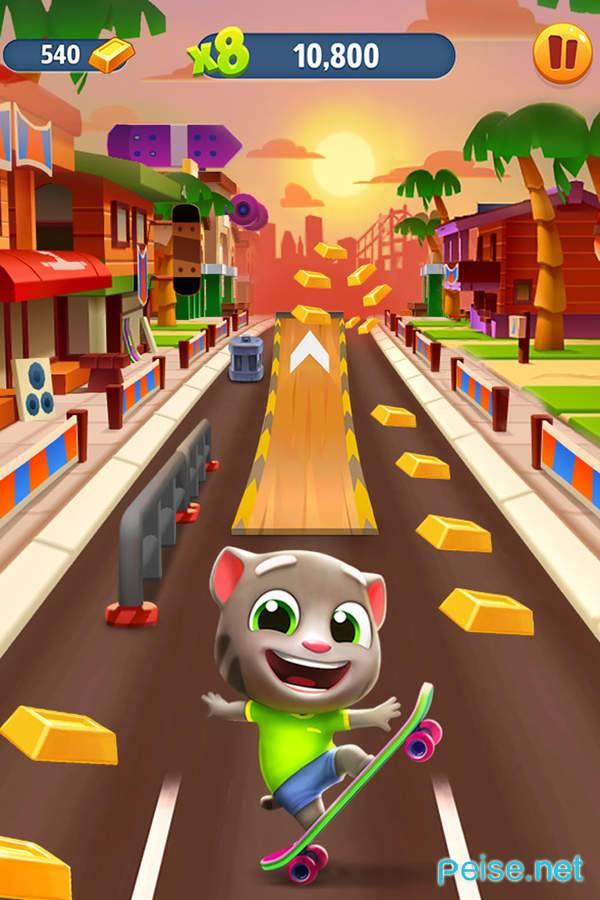 汤姆猫跑酷游戏图2