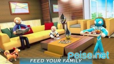 虚拟火柴人家庭冒险图2