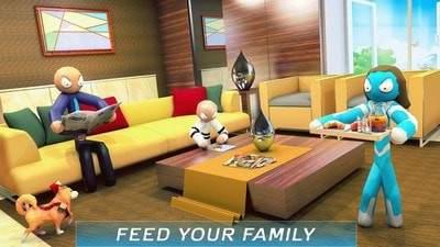 虚拟火柴人家庭冒险