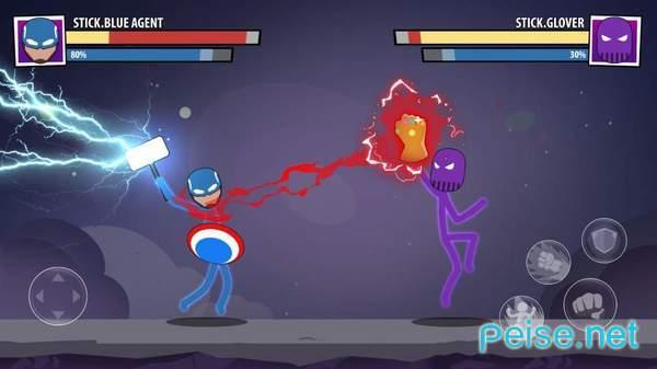 火柴人面具超级英雄图2