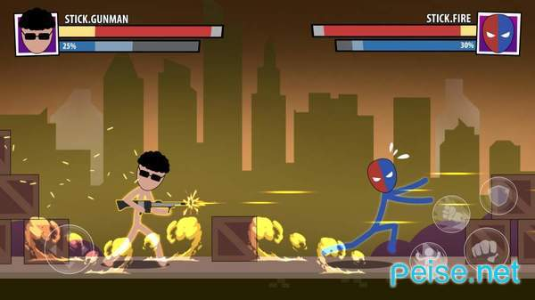火柴人面具超级英雄图3
