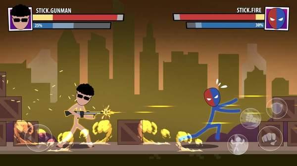 火柴人面具超级英雄