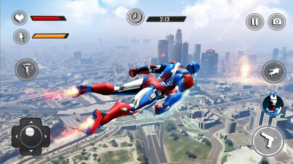 飞行机器人英雄破解版图1