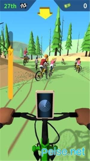 山地障碍自行车图1