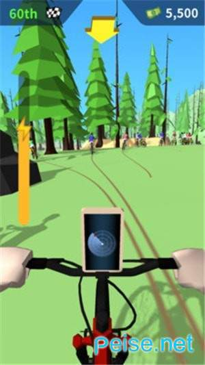 山地障碍自行车图2