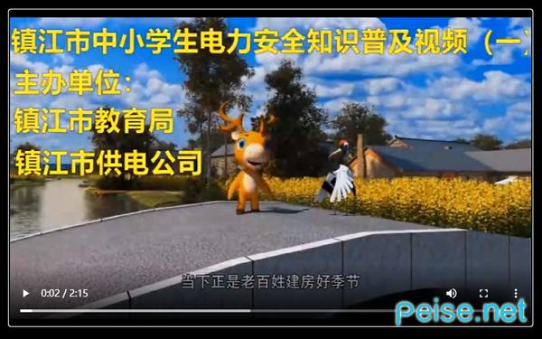 镇江市中小学生(幼儿)电力安全教育专题图3