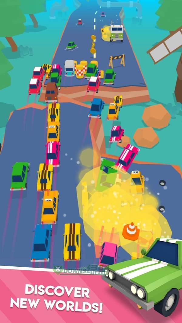 爆炸式的汽车图1