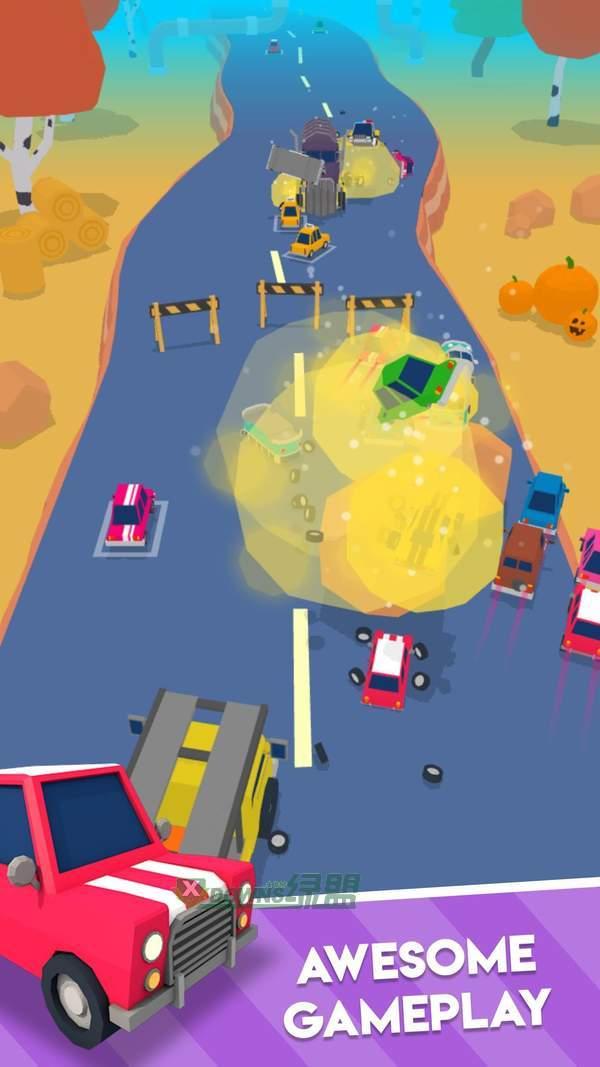 爆炸式的汽车图2