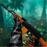 丛林狙击手战士