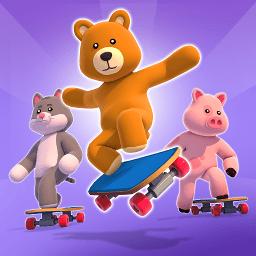 毛絨動物溜冰隊
