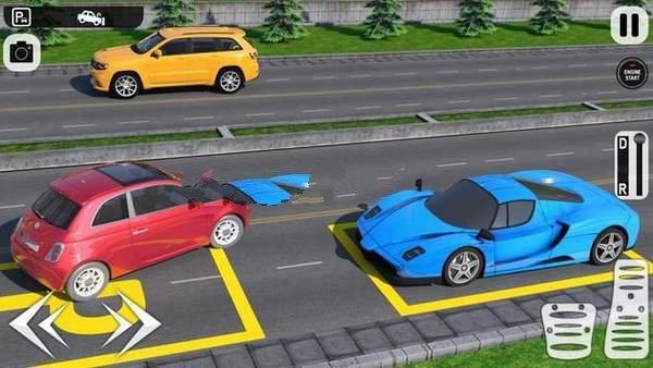 主停车场3D图1