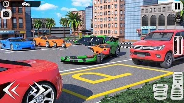 主停车场3D图2