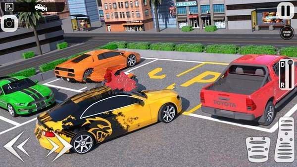 主停车场3D图3