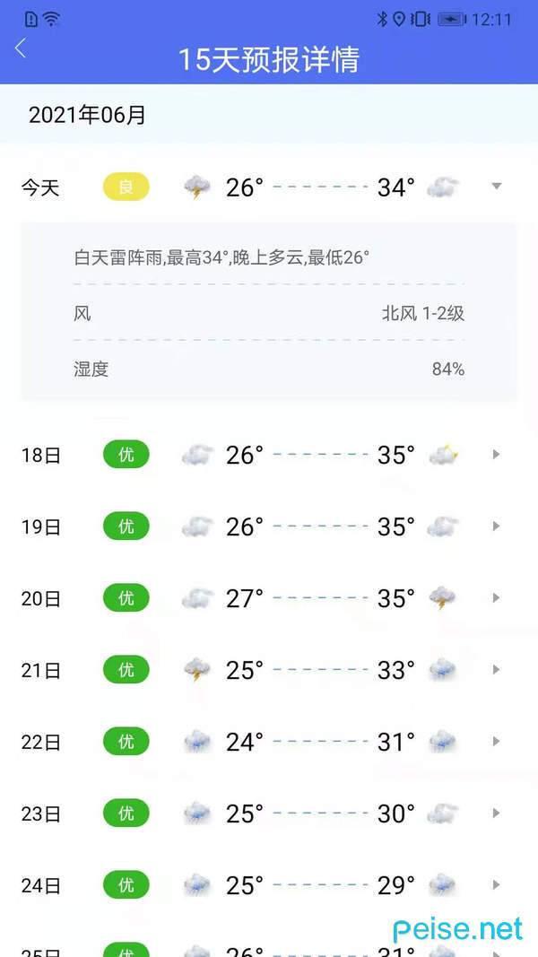 朝夕天气图2
