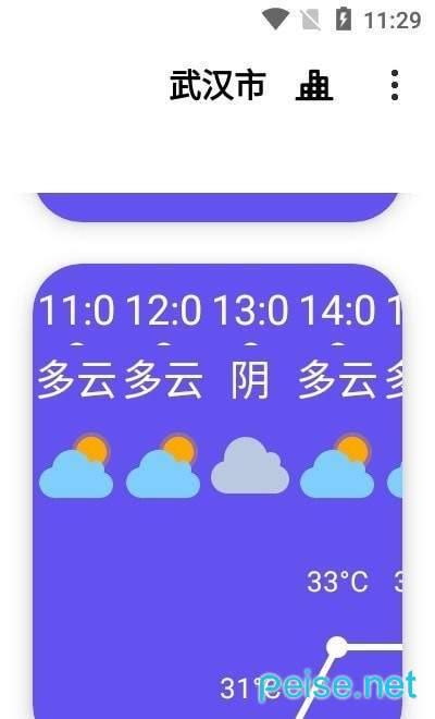 白云天气图1