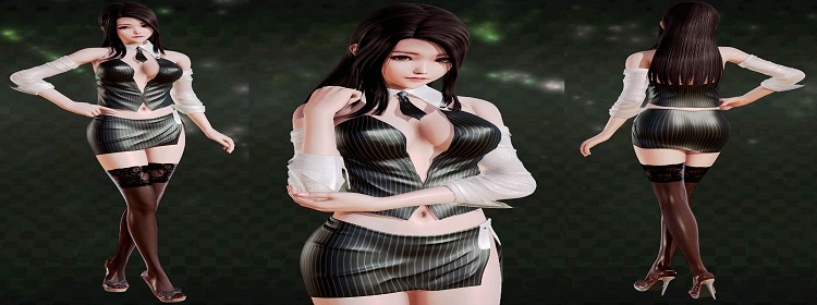 美女商战经营策略游戏