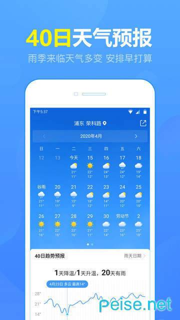 15日天气预报图2